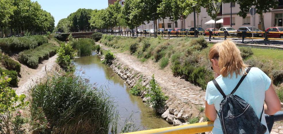 El paseo del Esgueva estará seis meses en obras para renovar farolas y vallas