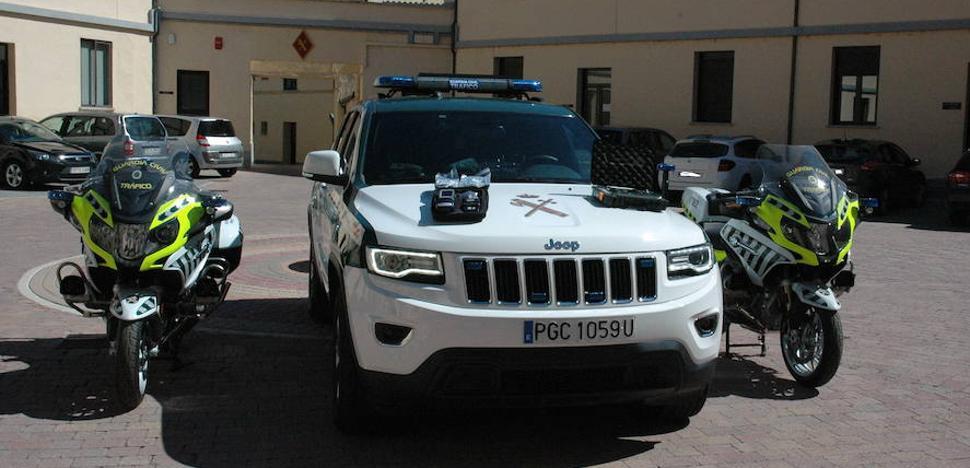 La Guardia Civil incorpora en varias motos un radar de láser ligero