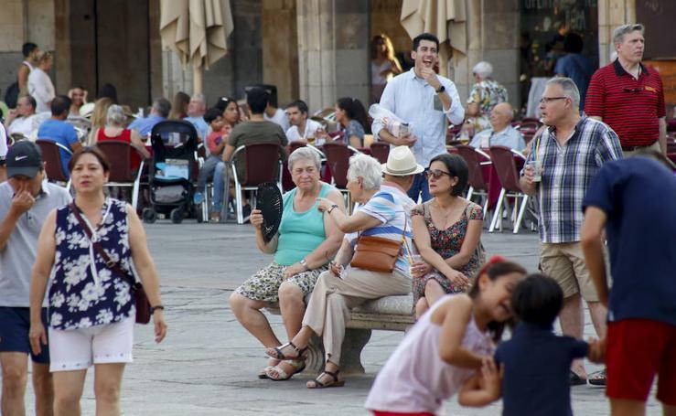 Ola de calor en Salamanca