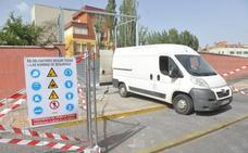 Adif derriba el muro de La Inmaculada en Valladolid para ganar anchura en el túnel de Pilarica