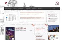 La web del Ayuntamiento de Ávila, «poco intuitiva» y «complicada» para ser accesible