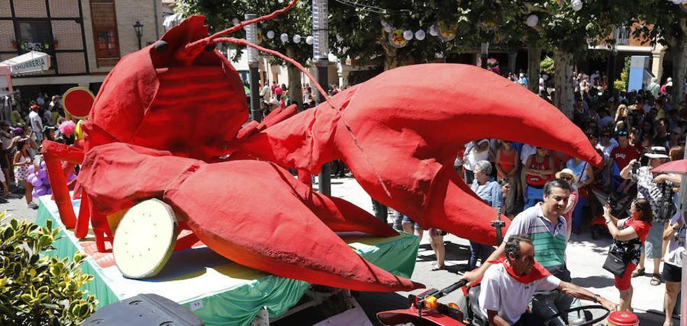 Herrera de Pisuerga disfruta de una multitudinaria Fiesta del Cangrejo