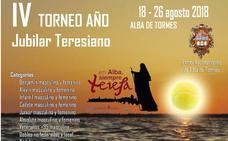 Abierta la inscripción para el IV Torneo de Tenis y Pádel 'Año Jubilar Teresiano' de Alba de Tormes