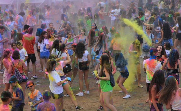Holi Party en San Lorenzo