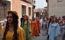 Simancas celebra su patrón 'El Salvador' con el tradicional requerimiento de las siete doncellas