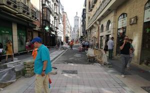 Regalado muestra su aspecto peatonal, que estrenará el día 17 con el fin de las obras