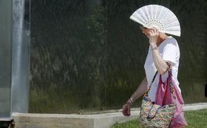 La ola de calor eleva el termómetro a más de 40 grados en la provincia de Valladolid
