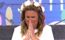 Carlota Corredera cuenta una exclusiva sobre su boda