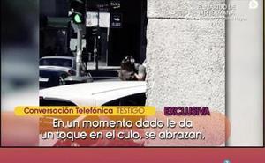 Isa Pantoja y Omar Montes, pillados besándose
