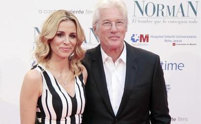 Richard Gere y Alejandra Silva estrenarán paternidad