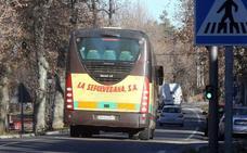 La Sepulvedana presta el servicio de transporte a La Granja y Valsaín bajo la supervisión de la Junta
