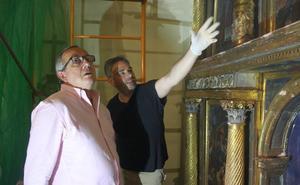 El retablo de la iglesia de Hontoria dirá adiós a los daños por xilófagos