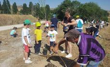 Jornada medioambiental en Peñaflor de Hornija