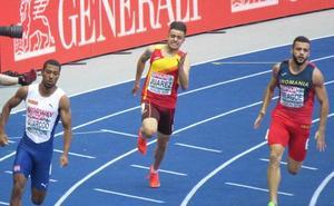 El vallisoletano Sergio Juárez, eliminado en los 200 metros