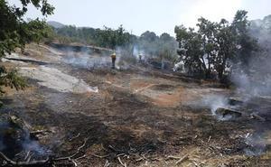 El Parque de Guadarrama sufre un pequeño incendio cerca de Boca de Asno