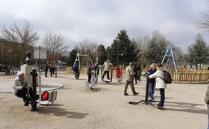 Salamanca impulsa el ejercicio con el programa de Parques Biosaludables Dinamizados