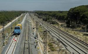 La construcción de la doble vía en alta velocidad hasta el puesto de Laguna, a punto de concluir