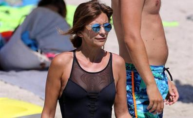 Gema López, primeras vacaciones de soltera