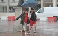 La lluvia podría llegar este jueves a Valladolid acompañada de un descenso de las temperaturas