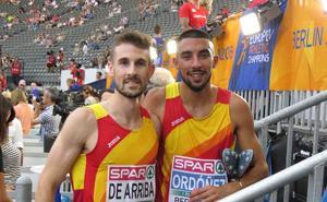Saúl Ordóñez y Álvaro de Arriba se meten en semifinales de 800 del Europeo
