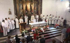 Despedida a los sacerdotes peruanos
