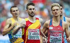 Durísima semifinal para Álvaro de Arriba con los actuales campeones del mundo al aire libre y bajo techo