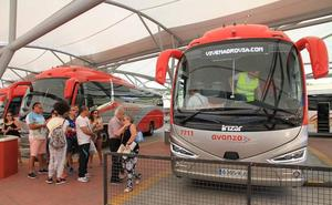 Estreno del nuevo transporte Segovia-Madrid