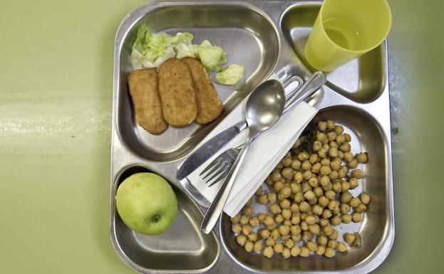 Nota para los comedores escolares de Castilla y León: 7,96 | El ...