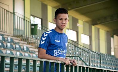 Huang Zhauyi, el 'superhombre' chino que adora Oliver y Benji
