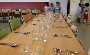 Las familias puntúan con un 8,1 el servicio de comedor escolar