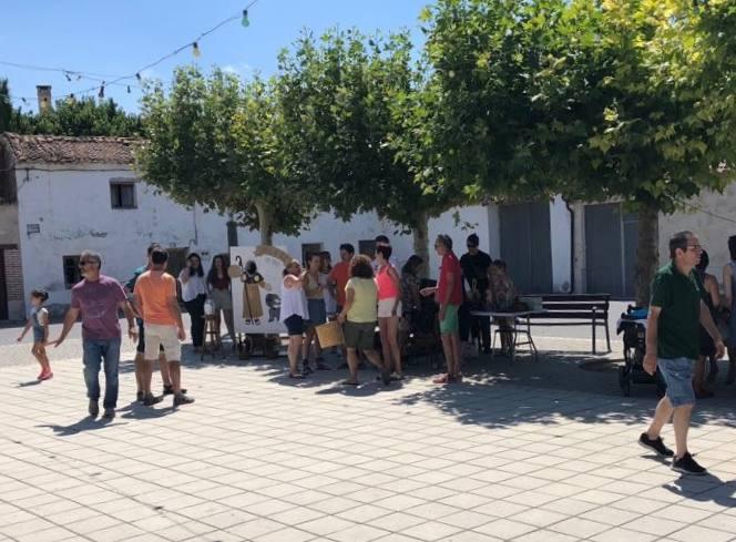 Cogeces de Íscar arranca sus fiestas patronales con la degustación de productos de la huerta