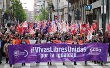 Las manifestaciones en Castilla y León cayeron en 2017 hasta niveles previos a la crisis