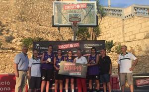 Pucelaikas levanta el título en el 3x3 de Sitges tras coronarse en el Street Basket Tour de CyL