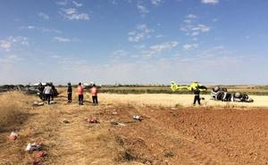 Cuatro heridos, dos de ellos niños, en una colisión frontal entre dos turismos en Siete Iglesias