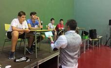 Recreación del programa 'Un, dos, tres... responda otra vez' en Peñaflor de Hornija
