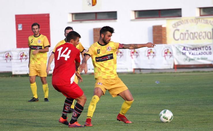 Partido de cuartos entre Villa de Simancas y La Cistérniga en el XXV Trofeo Diputación