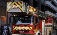 Intoxicado un joven de 18 años en un incendio en la cocina de su casa en Palencia