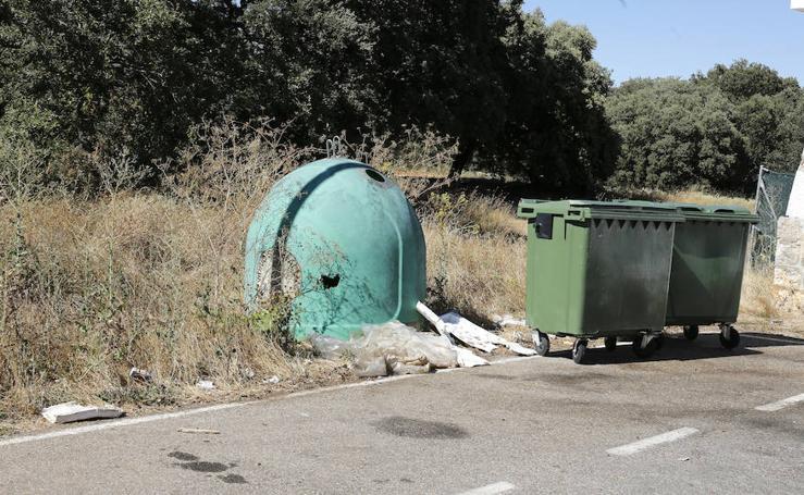 Críticas del PSOE por el mal estado y la falta de limpieza del Monte el Viejo