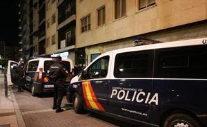 Detenido por intentar agredir con un cuchillo y amenazar de muerte a un hombre en Salamanca