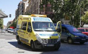 Tres atropellos y una colisión de dos turismos dejan cuatro heridos en Salamanca