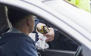 Retirado un vehículo en Valladolid por la imposibilidad del conductor de realizar la prueba de alcoholemia