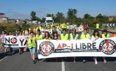 Nuevo corte en la carretera N-1 de Burgos para pedir la liberalización de la AP-1