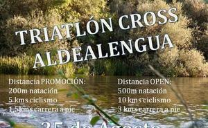 Aldealengua celebrará su clásico triatlón cross de verano el sábado 25 de agosto