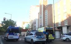 Dos ciclistas heridas al chocar entre ellas en Valladolid