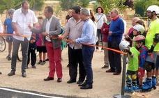 Palazuelos estrena el primer circuito 'pump track' de Segovia