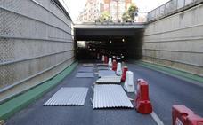 El túnel de los Jardinillos se cerrará al tráfico por las noches para terminar las obras