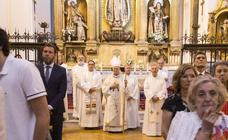 Conmemoración del 450 aniversario del convento de Santa Teresa