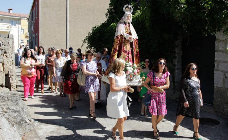 Procesión de la Virgen de la Asunción en Sorihuela