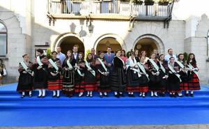 Comienzan las fiestas del Espinar con la proclamación de alcaldesa y damas