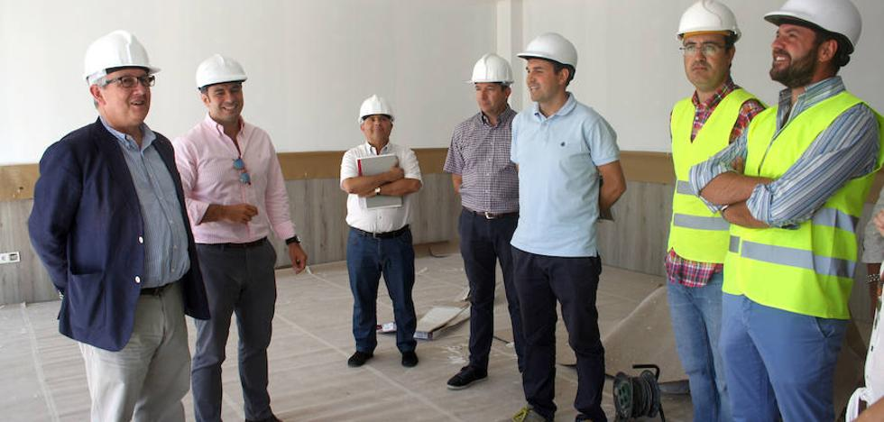 La ampliación del colegio de Trescasas estará lista para el inicio del curso